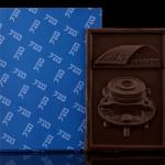 Firma AJS Cars - Warschau, Schokoladenvisitenkarte