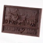 Berlin - Alte Post, Schokoladenrelief
