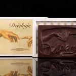 Dziękuję, czekoladowa pocztówka