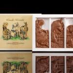 Wesołe krówki, czekoladowa pocztówka