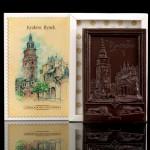 Kraków - Rynek, czekoladowa pocztówka