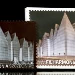 Filharmonia w Szczecinie, czekoladowa wizytówka grafika