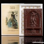 Danzig - Neptunbrunnen, Schokoladenpostkarte