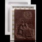 """""""Bergleute"""", Schokoladenpostkarte"""