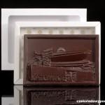 Kattowitz - Sportarena, Schokoladenpostkarte