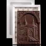 Krakau Barbakan, Schokolade Flachrelief