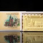 Kraków - Kościół Mariacki, czekoladowa pocztówka