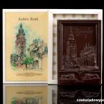 Krakau - Markt, Schokoladenpostkarte