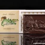 Krakau - Waweldrachen, Schokoladenpostkarte