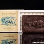 """Speedway-Mannschaft """"Unia Leszno"""" - die Leszno Stiere, Schokoladenpostkarte"""