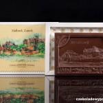 Malbork (ehem. Marienburg) - Schloss, Schokoladenpostkarte