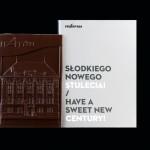 Warschau - Techn. Universität - Abt. Architektur, Schokoladenvisitenkarte