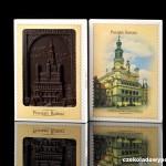 Posen - Rathaus, Schokoladenpostkarte