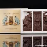 Posen- Steinböcke, Schokoladenpostkarte