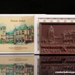 Posen - Schloss, Schokoladenpostkarte