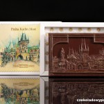 Prag - Karlsbrücke, Schokoladenpostkarte