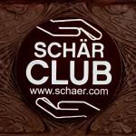 Firma Schaer, Italien, Schokoladenvisitenkarte