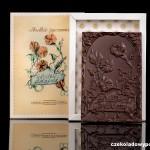 """Süße Wünsche"", Schokoladenpostkarte"