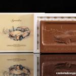 "Personenwagen ""Serena"", Schokoladenpostkarte"