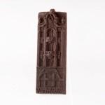Wrocław - tenement house. Dessert chocolate 55%, size ca. 100x50x6 mm, weight ca. 25 g.