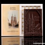 Breslau - Breslauer Dom,  Schokoladenpostkarte