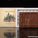 Breslau - Rathaus, Schokoladenpostkarte (Milchschokolade)