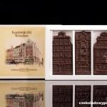 Breslau - alte Häuser, Schokoladenpostkarte