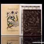 """""""Für immer verbunden"""", Schokoladenpostkarte"""
