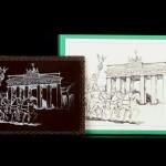 Berlin - Brama Brandenburska, czekoladowa grafika