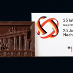 Berlin - Brama Brandenburska, czekoladowa pocztówka