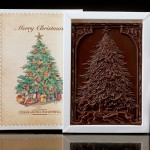 Choinka, czekoladowa pocztówka