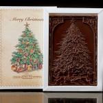 Weihnachtsbaum, Schokoladenpostkarte