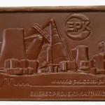 Enerkoprojekt Katowice SA, czekoladowa wizytówka