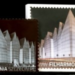 Chocolate Postcard Szczecin Philharmonic