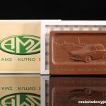 Firma AMZ Kutno, Schokoladenvisitenkarte