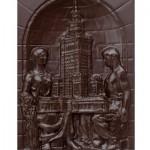 Warszawa - Pałac Kultury i Nauki, czekoladowa pocztówka