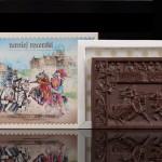Turniej rycerski, czekoladowa pocztówka