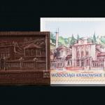 Krakau - Kommunale Wasser- und Abwassergesellschaft, Schokoladenvisitenkarte