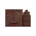 Wrocław - zestaw kamieniczek, czekoladowa pocztówka