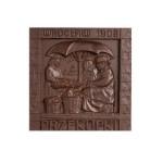 Wrocław - Przekupki z Hali Targowej, czekoladowa pocztówka