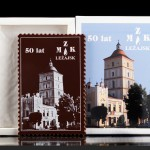 Czekoladowa pocztówka MZK Leżajsk
