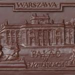Warszawa - Pałac Łazienkowski, czekoladowa pocztówka
